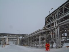 Process plant - external temperatures of +50 to -40 deg C.
